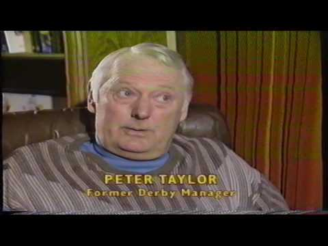 1988-89 Derby County - Peter Taylor interview - Dec 1988