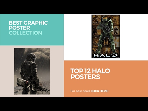 Top 12 Halo Posters // Best Graphic Poster Collection - YouTube