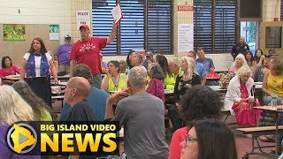 Eruption Meeting In Pahoa - Questions & Answers (Aug. 14, 2018)