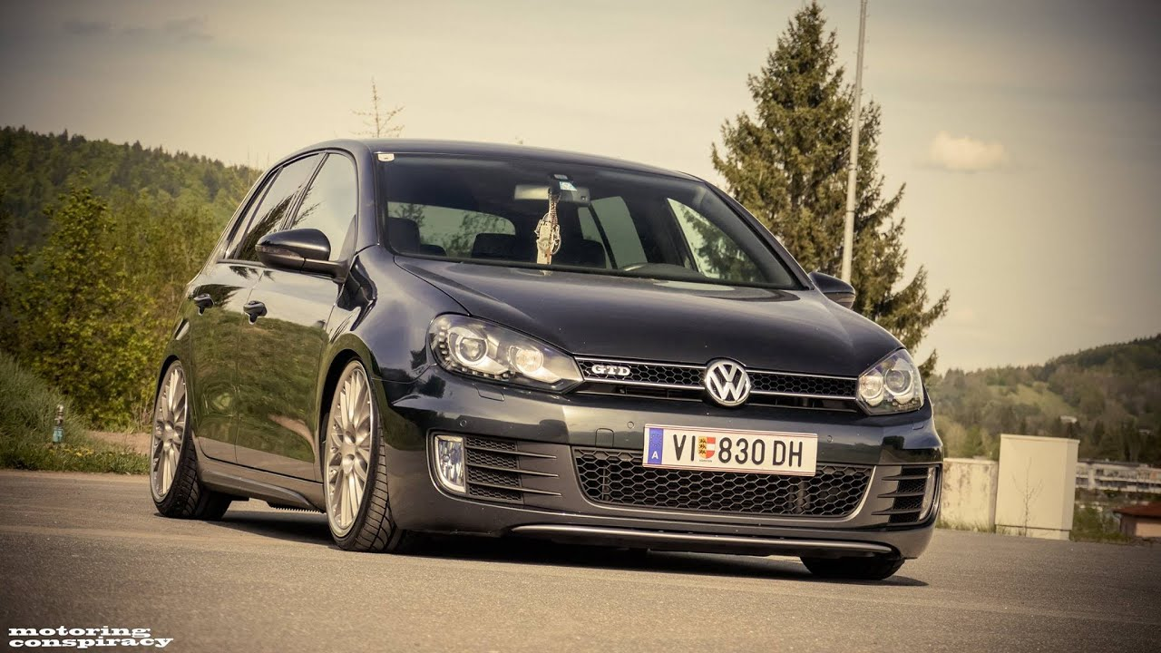 Vw golf 6 gtd youtube for Golf 6 gtd blanche