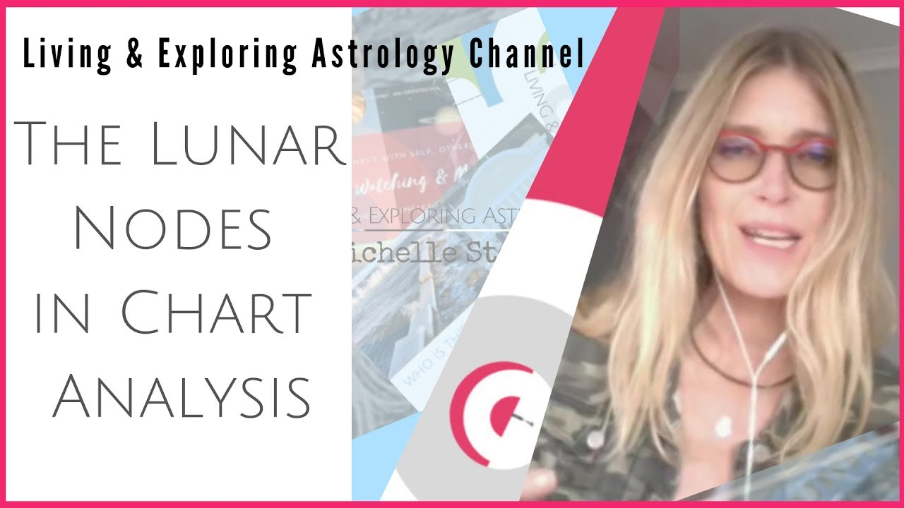 How to use the Lunar Nodal Axis in Astrology (The Lunar Nodes in Chart Analysis)