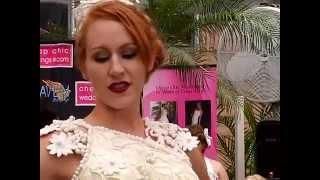 Свадебные платья из туалетной бумаги сделали в Нью-Йорке (новости)