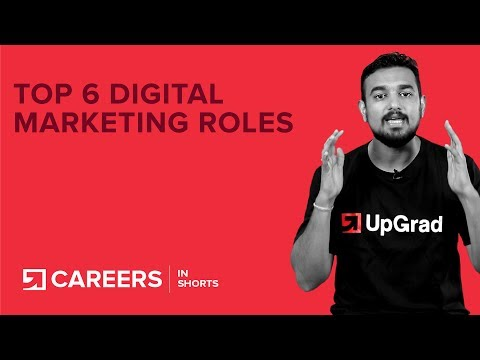 Digital Marketing: Top 6 Jobs and Careers [2018]