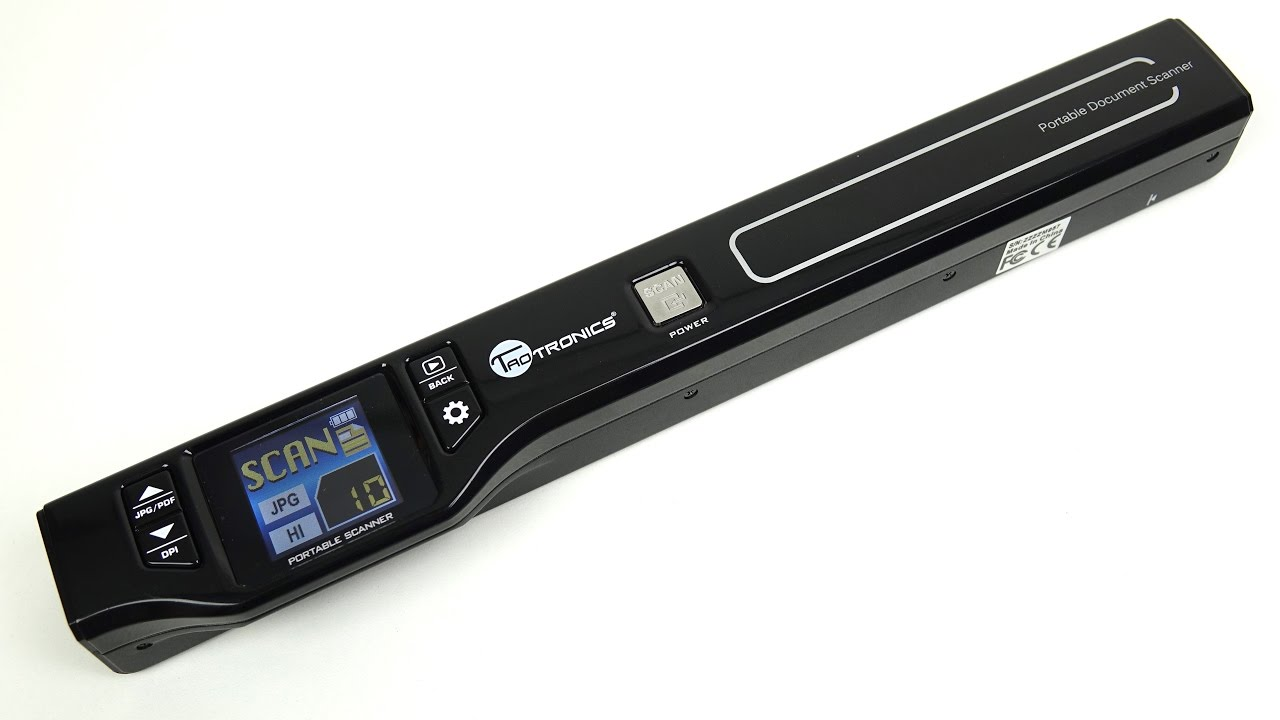 Quick Scan - Portable Rechargeable Handheld Scanner - YouTube