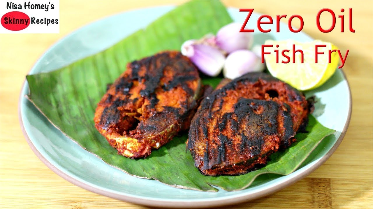 Fish fry without oil how to fry fish without oil zero oil high fish fry without oil how to fry fish without oil zero oil high protein tasty indian fish roast skinny recipes forumfinder Gallery
