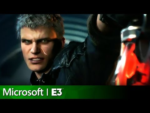 Devil May Cry 5 Full Reveal | Microsoft Xbox E3 2018 Press Conference