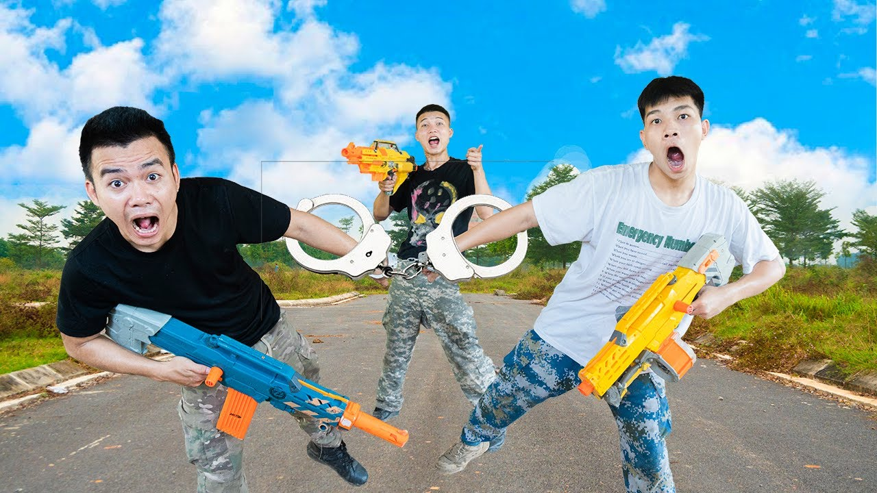 Battle Nerf War: Competition Nerf Guns FRESHWATER MIX BATTLE