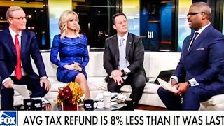 Fox News Screws Up Their Defense Of Republican Tax Scam