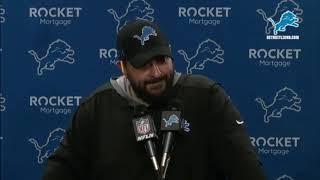 Detroit Lions post-game interviews following week 2 win vs LA Chargers