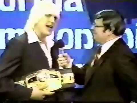 Tommy Rich  Promo  NWA Champ