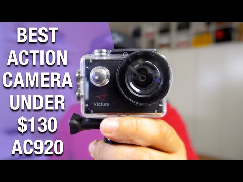 Victure action camera 4K AC920 | GoPro alternative action camera