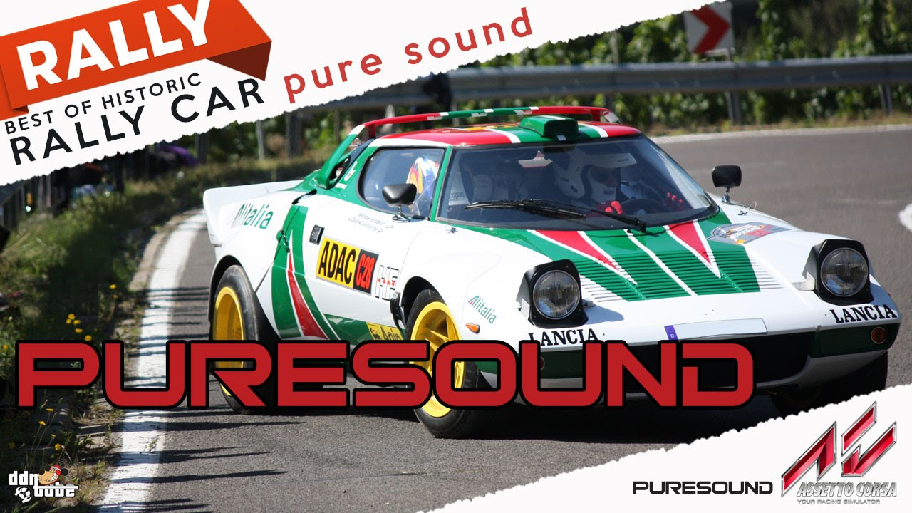 Assetto Corsa BEST OF HISTORIC RALLY CAR pure sound HD