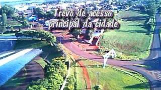 Aeromodelo com câmera on-board - Filmando estádio Muncipal de Jardim Alegre