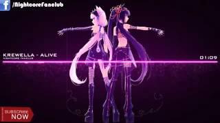 ▶ Nightcore   KREWELLA   ALIVE