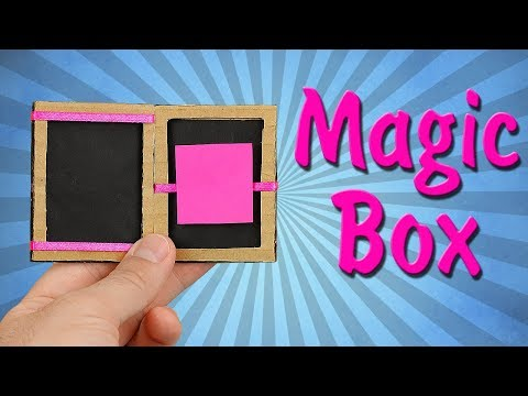 How To Make Magic Box From Cardboard!