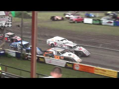 IMCA Modified Heats Benton County Speedway 7/28/19