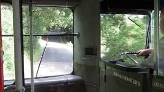 Very fast and hilly ride by London Transport GreenLine AEC Regal IV RF180 (MLL 567)