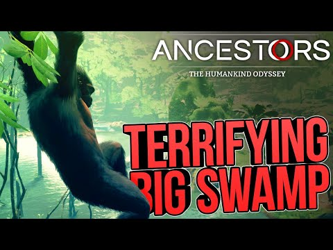 exploring-a-terrifying-swamp-in-ancestors:-the-humankind-odyssey-(part-2)