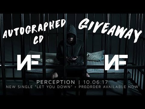 NF AUTOGRAPHED PERCEPTION CD GIVEAWAY!!