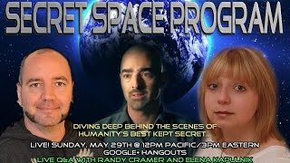 Inside the Secret Space Program w/ Randy Cramer (Captain Kaye)  & Elena Kapulnik