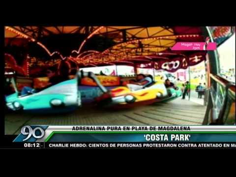Costa Park Los Juegos Mecanicos Mas Extremos Estan En Lima Youtube