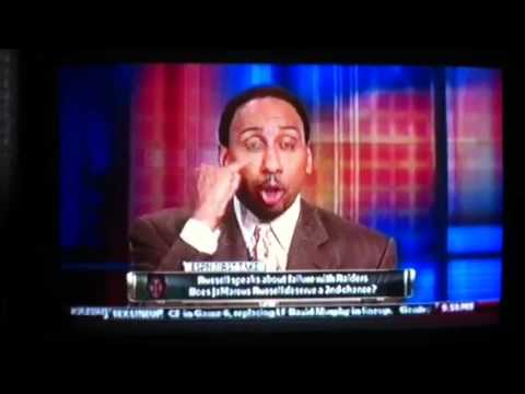 Stephen A. Smith rips JaMarcus Russell