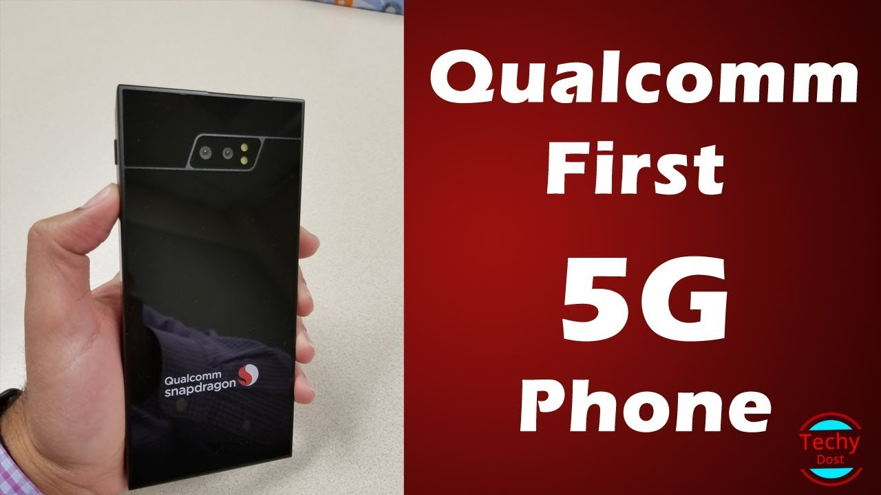 Qualcomm First 5G Phone - X50 Modem