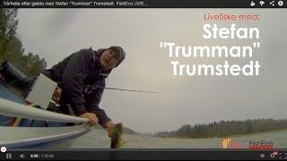 "Vårfiske efter gädda med Stefan ""Trumman"" Trumstedt. FishEco LIVE..."