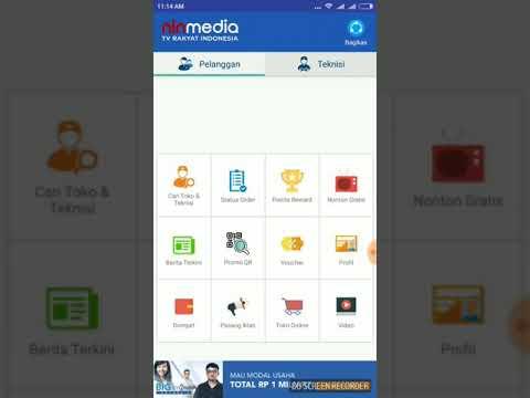 Daftar penampakan channel Ninmedia Asiasat 11 lewat Internet Streaming