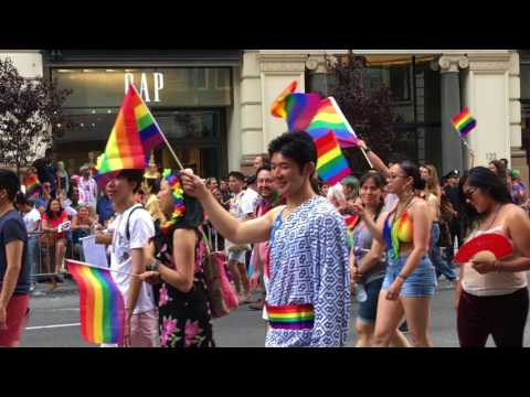 New York City – Manhattan – Jun 2017 – LGBT Pride parade