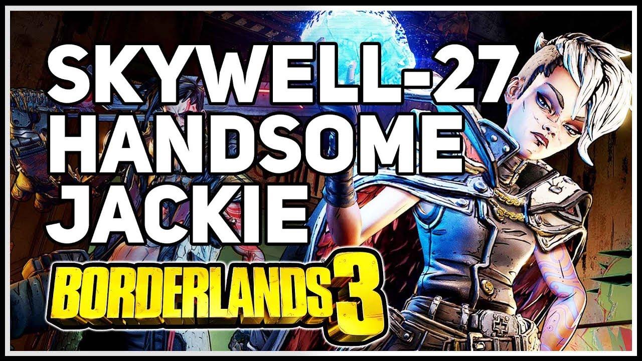Handsome Jackie Location Skywell 27 Borderlands 3