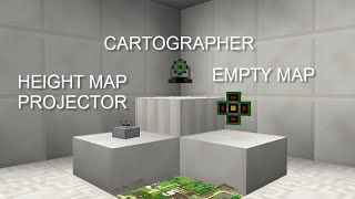 Bit by Bit: OpenBlocks Cartographer, Height Map Projector, and Empty Map