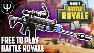 Fortnite Battle Royale — FREE TO PLAY Battle Royale & Console Battle Royale!