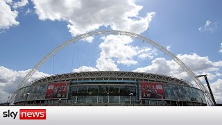 COVID-19: Minister defends VIPs attending Euro 2020 at Wembley