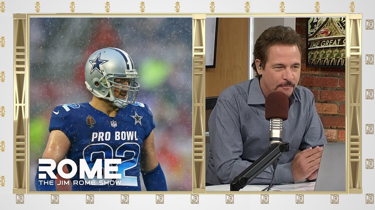 953a3a223c4 Jason Witten Returns To Cowboys | The Jim Rome Show - YouTube