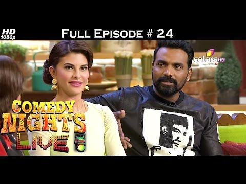 Comedy Nights Live - Tiger & Jacqueline - 21st August 2016 - कॉमेडी नाइट्स लाइव - Full Episode HD