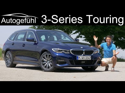 BMW 3-Series Touring FULL REVIEW 3er Kombi G21- Autogefühl