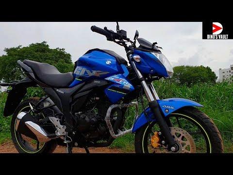 Suzuki Gixxer ABS First Ride Review Braking Test #Bikes@Dinos
