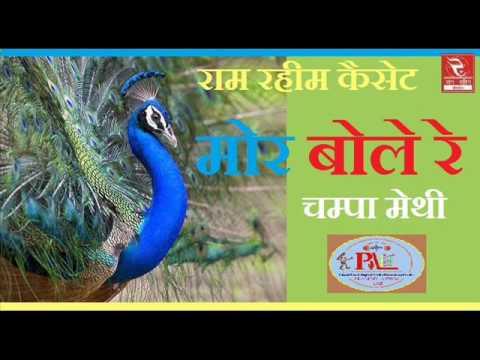 Champa Methi   मोर बोले रे   RRC Rajasthani   Pramod Audio Lab   रुपिड़ो तो लेने   Online Folk Music