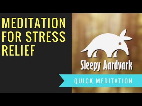 Meditation For Stress Relief - Sleepy Aardvark