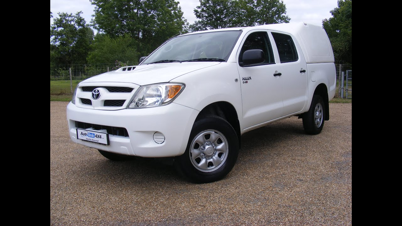 2008 toyota hilux d-4d hl2 4wd double cab pick up - youtube