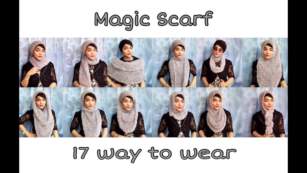Scarf magic how to wear photos