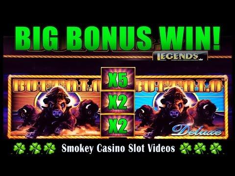 buffalo legends slot machine