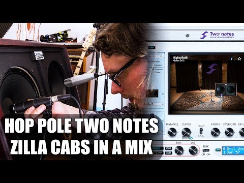 New Zilla Cabs demo for Two Notes Wall of Sound + Torpedo -