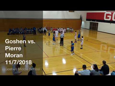 Goshen Middle School vs. Pierre Moran Middle School 7th Grade Basketball Game 11/7/2018