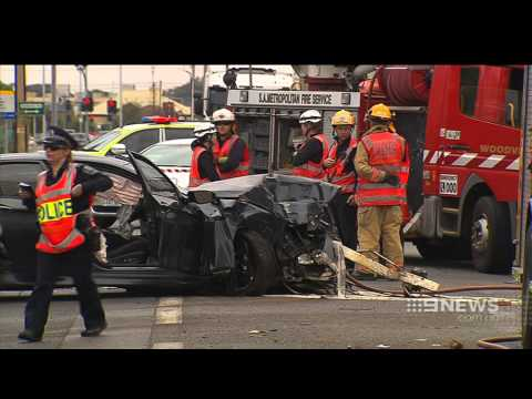 Adelaide Car Crash Findon