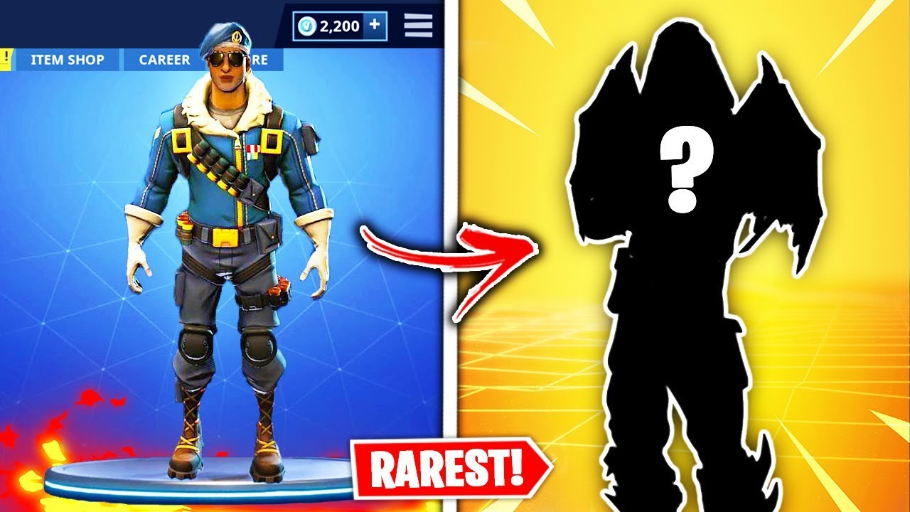Top 10 Rarest Fortnite Skins Of All Time Fortnite Season 9 Youtube