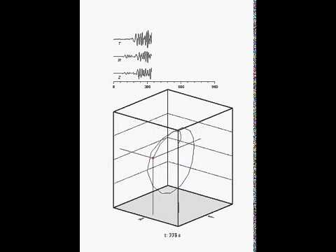 3D motion generated by seismic waves