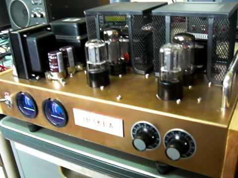 6V6GT Single Ended - 6SN7 SRPP Stereo Amplifier Trial