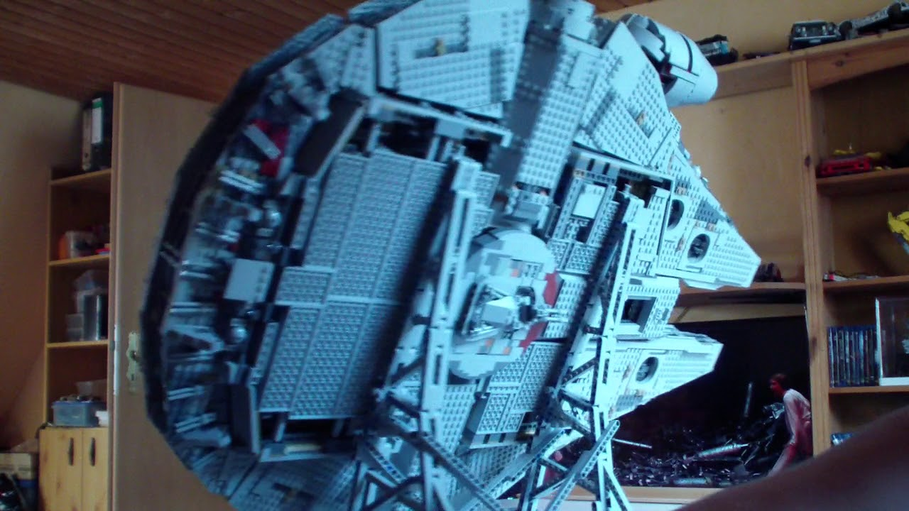 Lego Moc 10219 Effermans Vertical Stand For Millennium